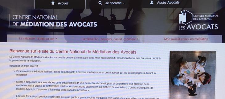 Page d'accueil de cnma.avocat.fr