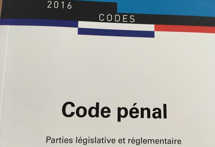 Code pénal 2016, Les éditions des journaux officiels.