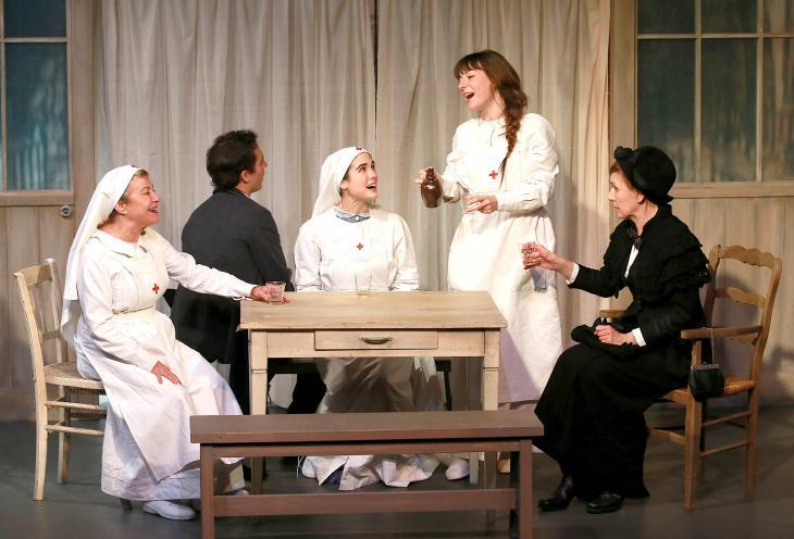 Comme en 14, au théâtre la Bruyère. Photo Lot.