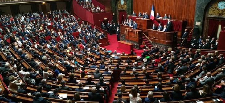 Le Parlement réuni en Congrès, 3 juillet 2017. Photo Assemblée nationale.