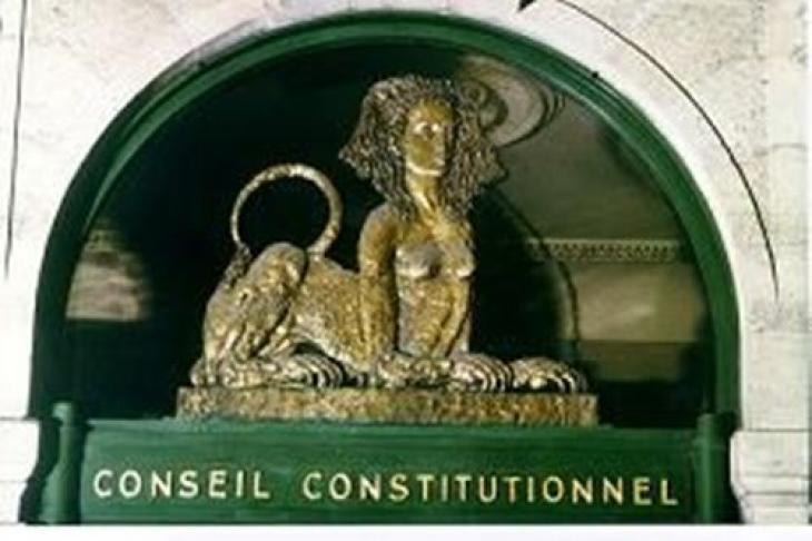 Conseil constitutionnel.