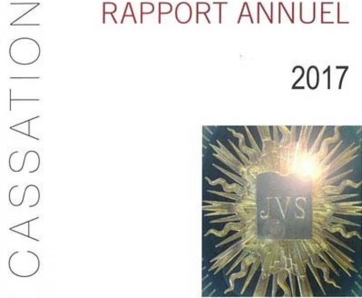 Rapport annuel 2017 de la Cour de cassation
