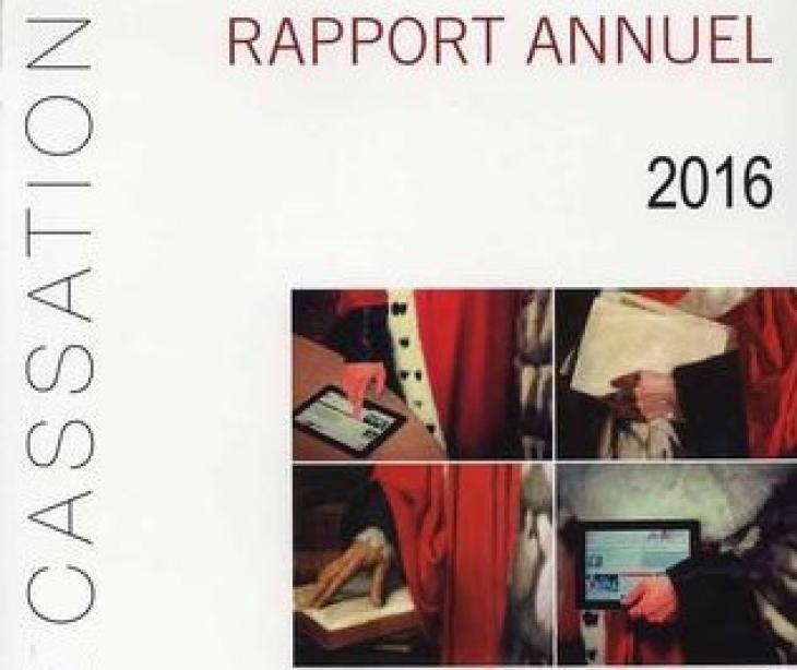 Rapport annuel 2016 de la Cour de cassation