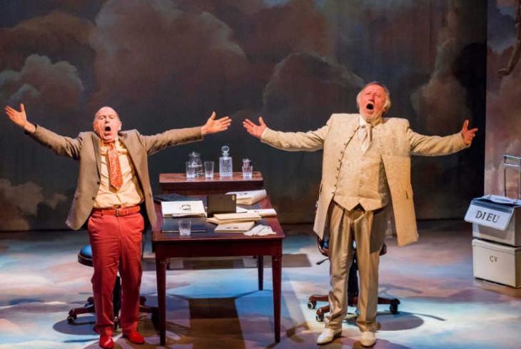 Le C.V. de Dieu, au théâtre la Pépinière. Photo Ch. Vootz.