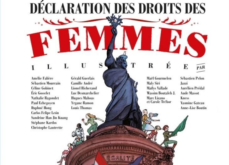 Déclaration des droits des femmes illustrée.