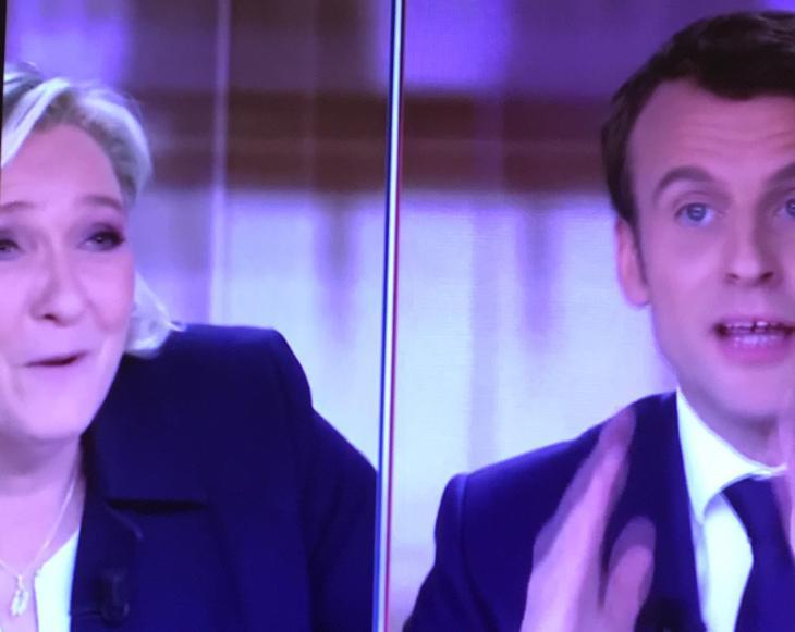 Débat Macron - Le Pen, 3 mai 2017.