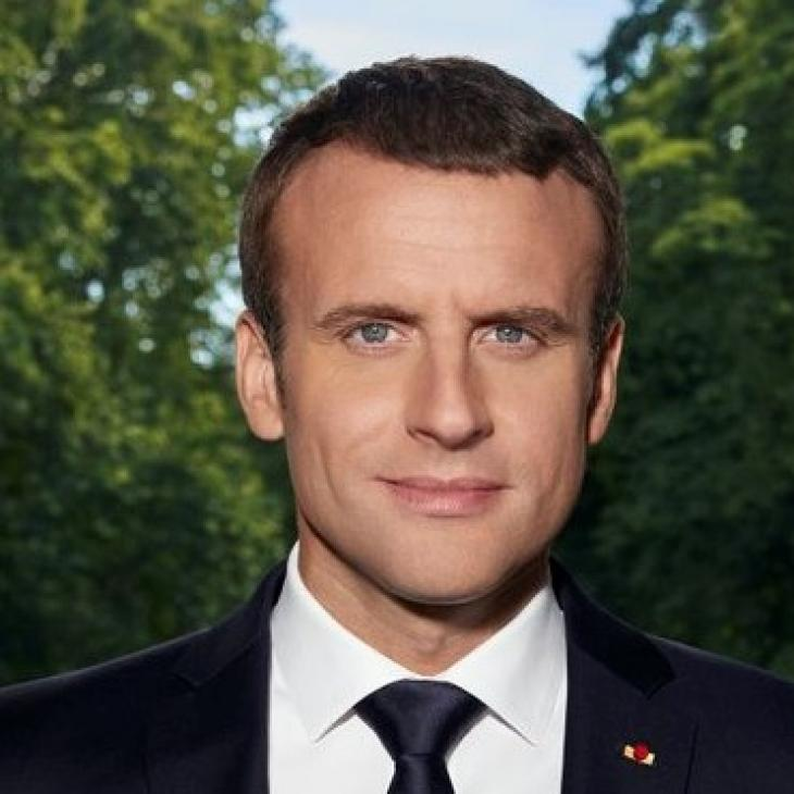 Emmanuel Macron, portrait officiel, 29 juin 2017. Photo Élysée.