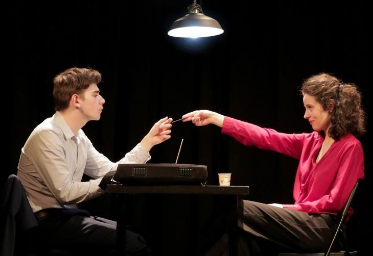 L'étrange affaire Émilie Artois, au théâtre de la Contrescarpe. Photo Fabienne Rappeneau.