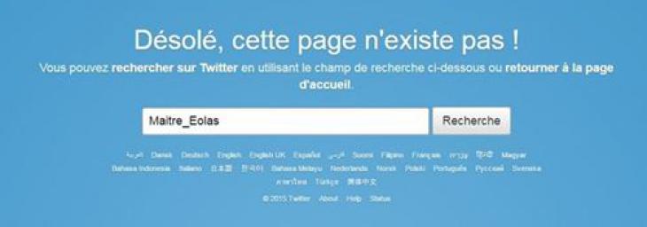 Compte twitter de Maître Eolas
