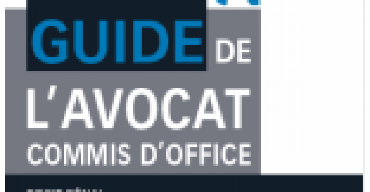 Guide de l'avocat commis d'office