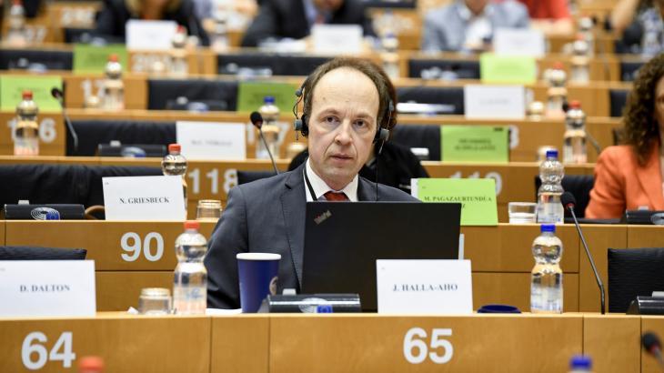 Débat à la commission sur les libertés civiles du Parlement européen sur la situation en Hongrie. Photo PE.