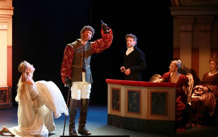 Kean, au théâtre de l'Œuvre. Photo Lot.