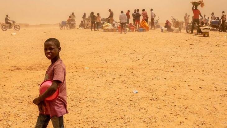 Un jeune migrant. Photo Unicef.