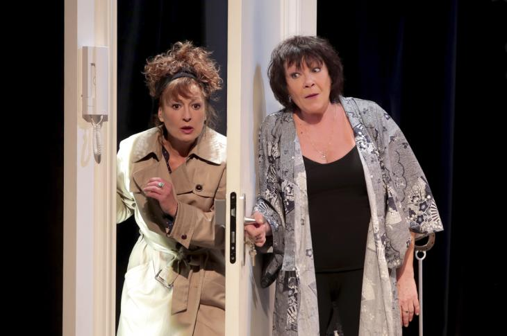Le crime était parfait... ou presque, au théâtre la Boussole. Photo Fabienne Rappeneau
