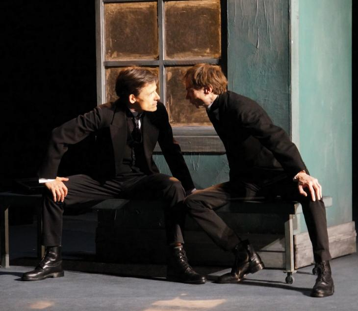 Le double, au théâtre le Ranelagh. Photo Ben Dumas.