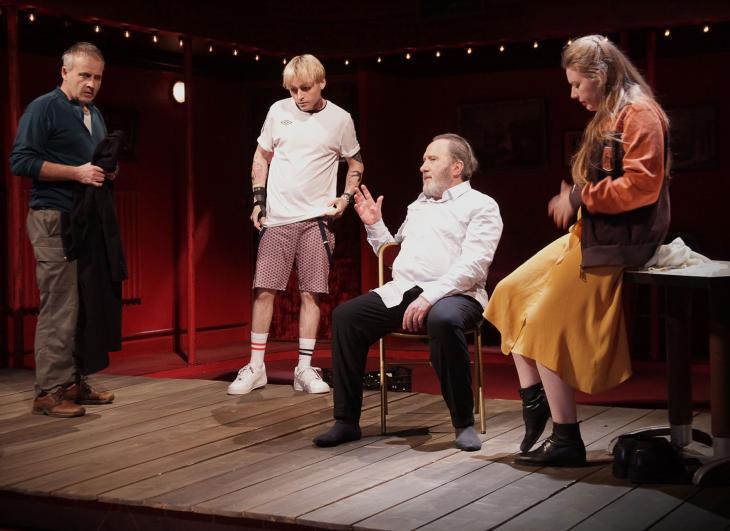 Le Faiseur de théâtre, au théâtre Dejazet.