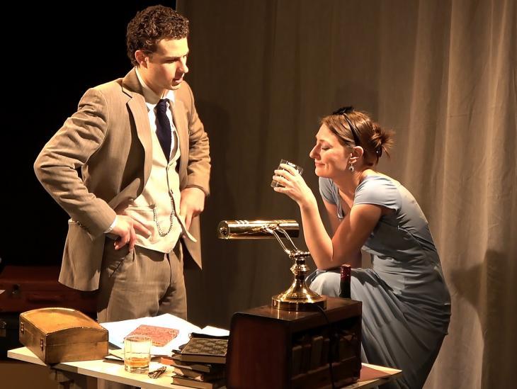 Légende d'une vie, au théâtre le Lucernaire. Photo Olivier Méjane.