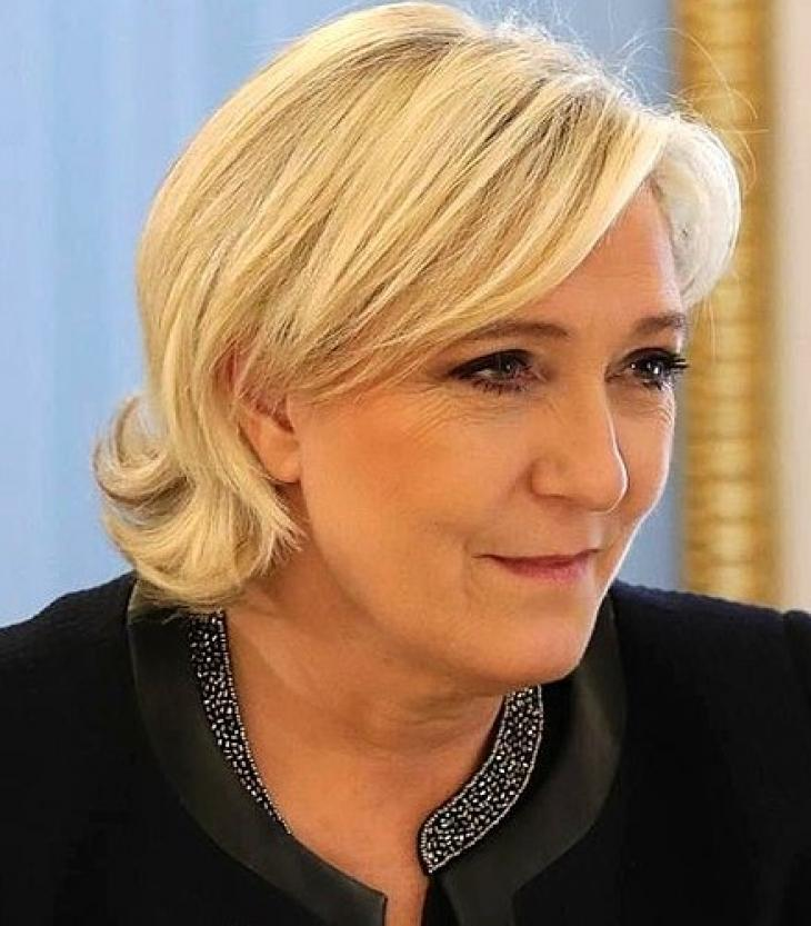 Marine Le Pen, mars 2017. Photo Russian Presidential Press and Information Office/Wikipédia.