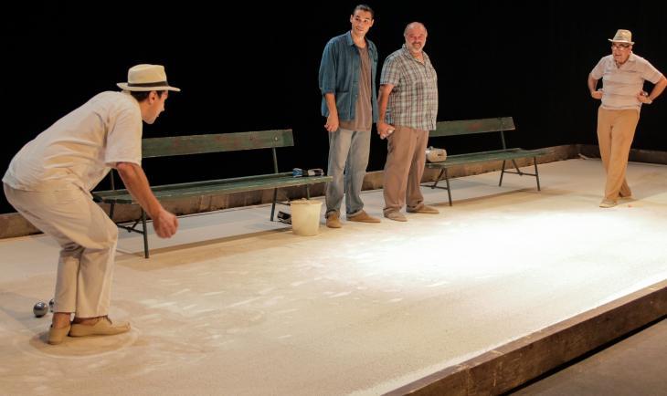 Les Pieds Tanqués, au théâtre Douze. Photo Jérôme-Quadri.