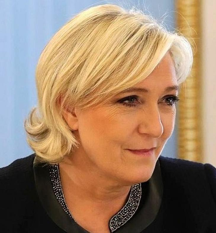Marine Le Pen, mars 2017. Photo Russian Presidential Press and Information Office.