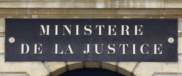 Ministère de la justice, place Vendôme.