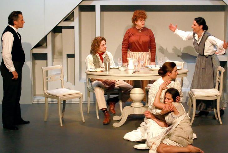 Miracle en Alabama, au théâtre La Bruyère. Photo Lot.