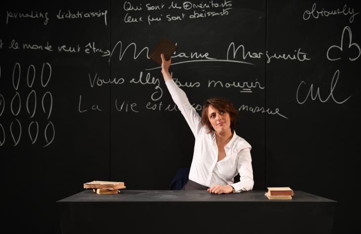 Madame Marguerite, au théâtre de Poche Montparnasse. Photo DR.
