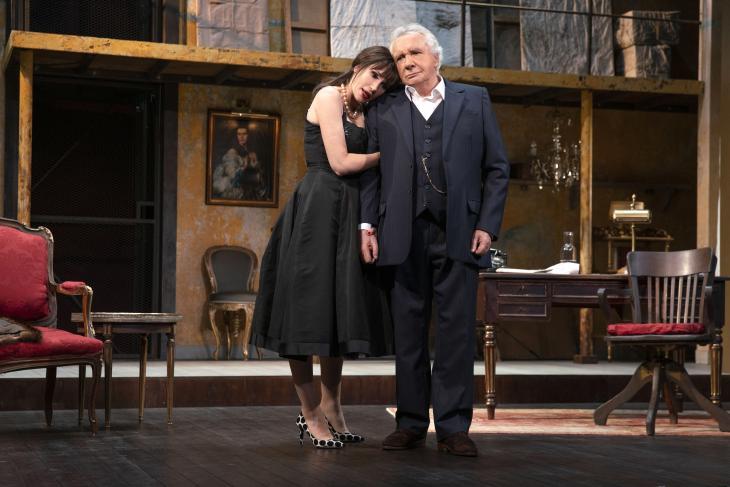 N'écoutez pas Mesdames, au théâtre de la Michodière. Photo Celine Nieszawer.