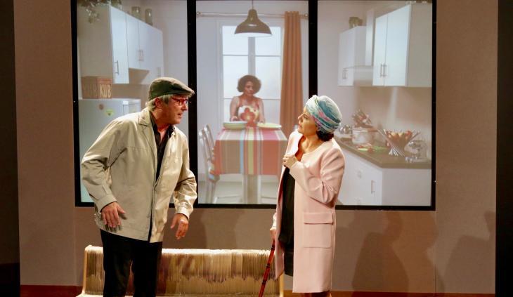 Parents Modèles, à la Comédie Caumartin. Photo Philippe Riot.
