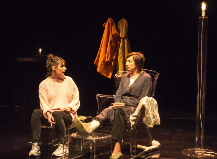 Poisson et petits pois !, au théâtre le Funambule. Photo Franz Laimé.