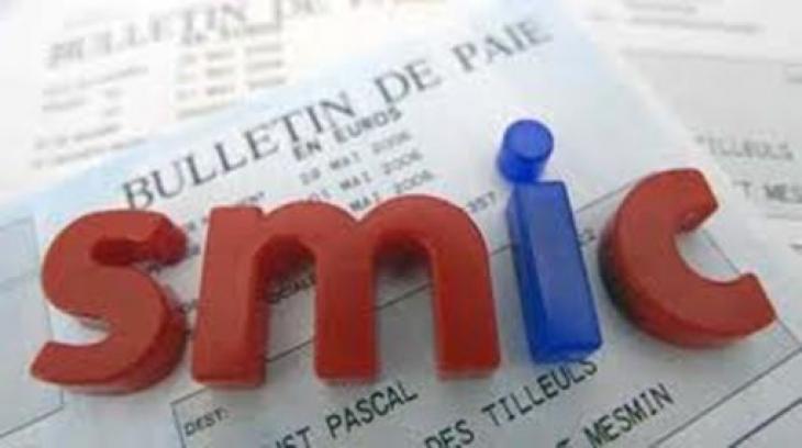 Salaire minimum interprofessionnel de croissance (Smic).