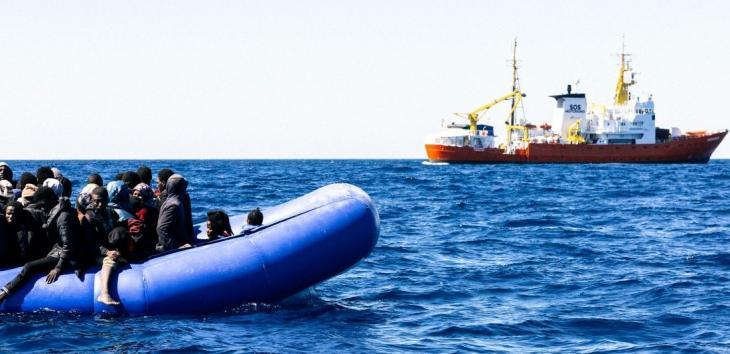 Trois jours d'opération complexes et dramatiques en Méditerranée. Photo Yann Levy / SOS Méditerranée.