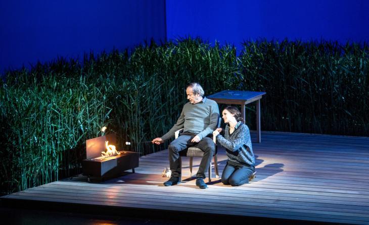 Tu te souviendras de moi, au théâtre de Paris. Photo Philip Ducap.