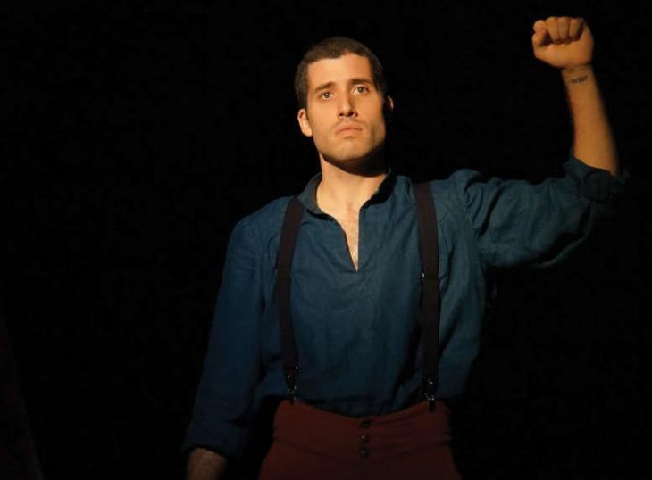 Vipère au poing, au théâtre le Ranelagh. Photo Ben Dumas.
